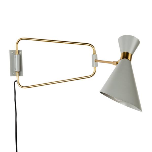 Design wandspot met goud