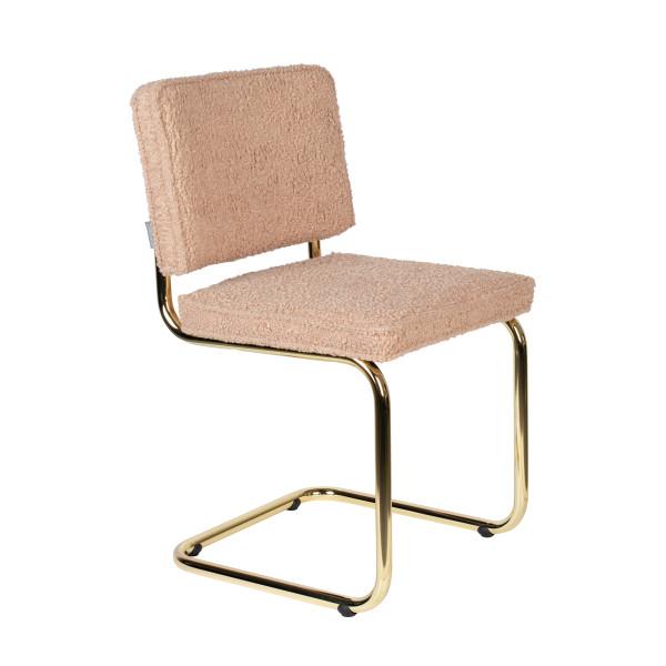 Retro design stoel messing