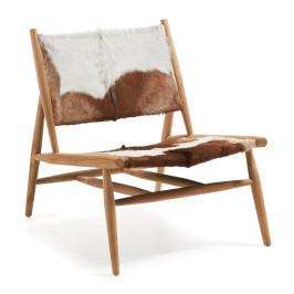 Authentieke fauteuil teak