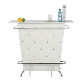 Bar in wit Chesterfield design 120 cm