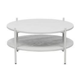 Witte salontafel rond