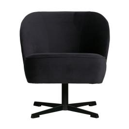 Draaibare velvet fauteuil