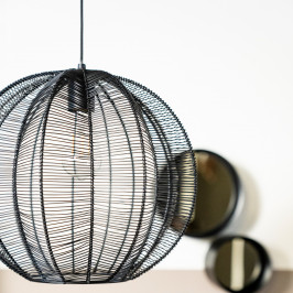 Ronde hanglamp metaaldraad