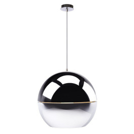 Chromen design hanglamp