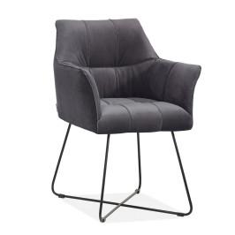 Comfortabele design eetkamerstoel met arm
