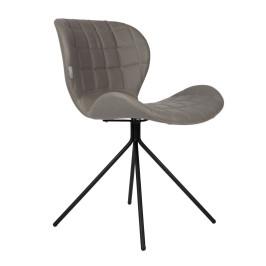 Design stoel kunstleer