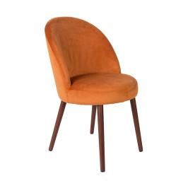 Armloze stoel fluweel