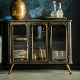 Vintage metalen dressoir