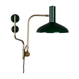 Metalen wandlamp