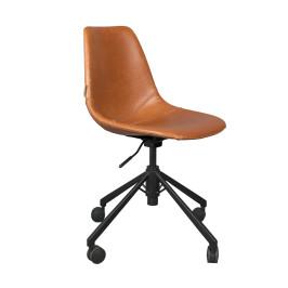 Leren bureaustoel