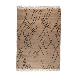 Jute tapijt handgemaakt