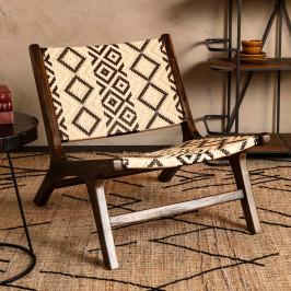 Handgemaakte fauteuil
