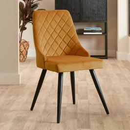 Velvet stoel