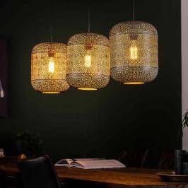 Eettafel hanglamp met gaatjes