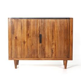 Retro dressoir mangohout 105 cm