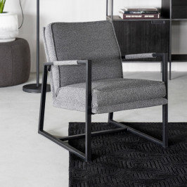 Moderne fauteuil met metaal