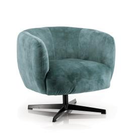 Draaibare fauteuil velvet