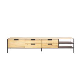 Licht houten tv-meubel 210 cm