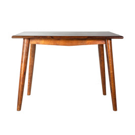 Vierkante tafel mangohout 80x80 cm