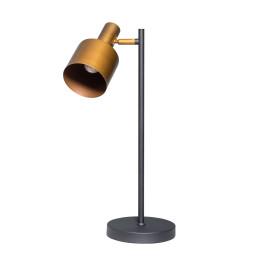 Bureaulamp zwart metaal