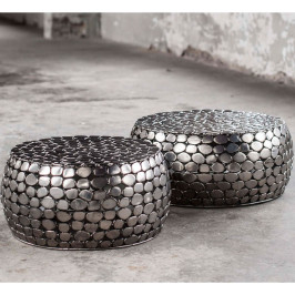 Salontafelset van stenen