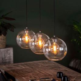 Glazen bollen hanglamp