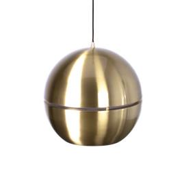 Gouden hanglamp rond