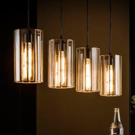 Handgemaakte artdeco cilinder hanglamp
