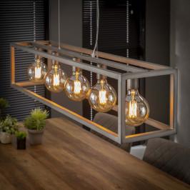 Industriele rechthoekige lamp