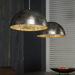 Hanglamp met spiegelglas