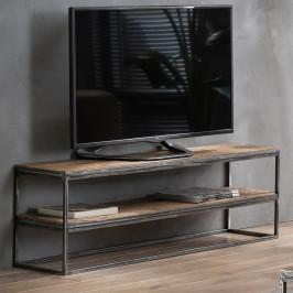 Hardhouten tv-meubel industrieel
