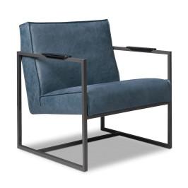 Stoere fauteuil leder samenstellen