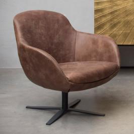 Lederen kuip fauteuil samenstellen