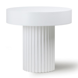 Witte bijzettafel Griekse stijl