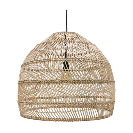 Wicker rieten hanglamp M - H50-⌀60