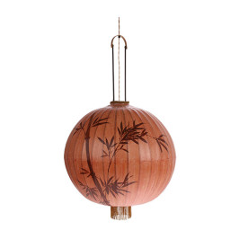 Traditionele Taiwanese lampion rood
