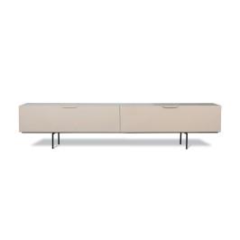 Retro tv-meubel zandkleur beige