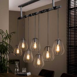 Industriele 6-lichts hanglamp