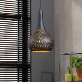 Industriele zwartbruine hanglamp