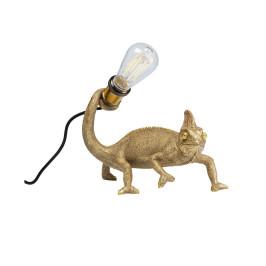Gouden kameleon lampje