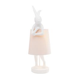 Lamp konijnfiguur wit