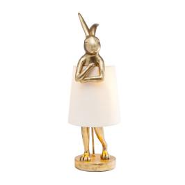 Tafellamp konijnfiguur goud