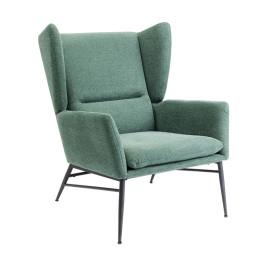 Moderne fauteuil groen