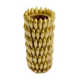 Gouden vaas bananen 79 cm