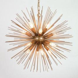 Unieke messing hanglamp
