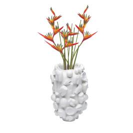 Witte design vaas