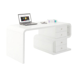 Bureau retro design wit