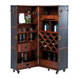 Vintage luxe wijnkast