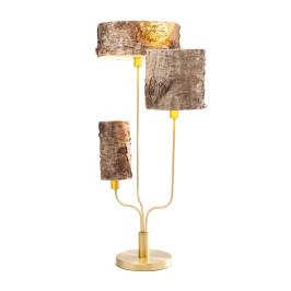 Tafellamp boomstam kappen