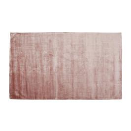 Zacht tapijt roze